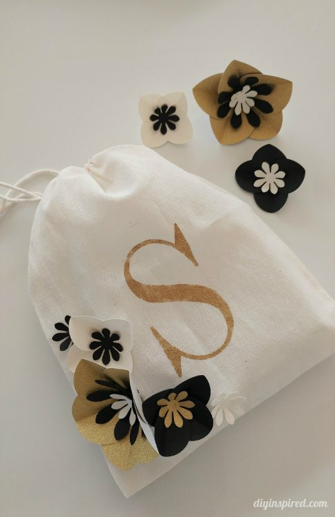 stenciled-gift-bag-with-diy-paper-flowers-diy-inspired