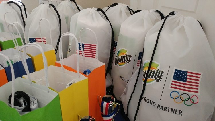 Summer Olympics Party - Swag bags for Adults