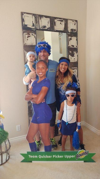 Summer Olympics Party - Team Blue