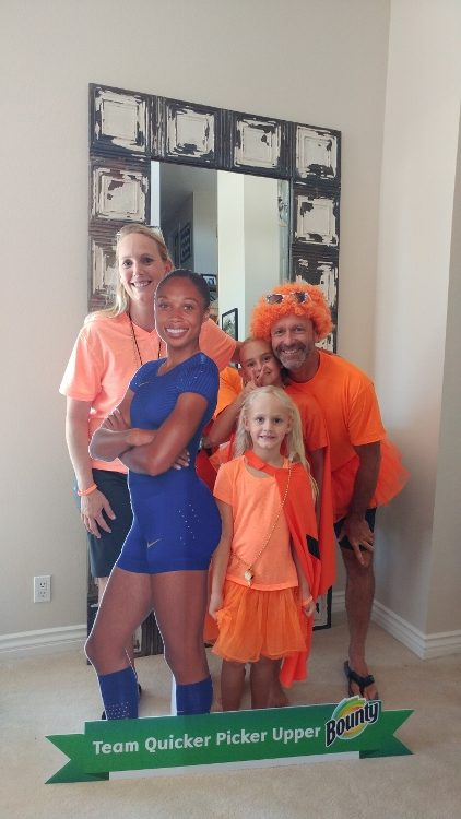 Summer Olympics Party - Team Orange