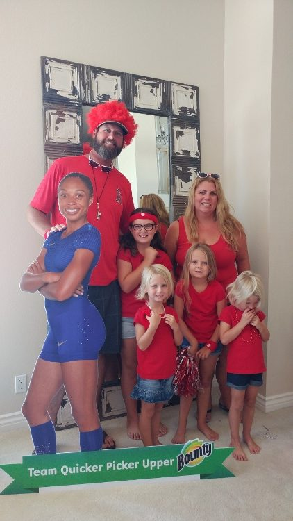 Summer Olympics Party - Team Red
