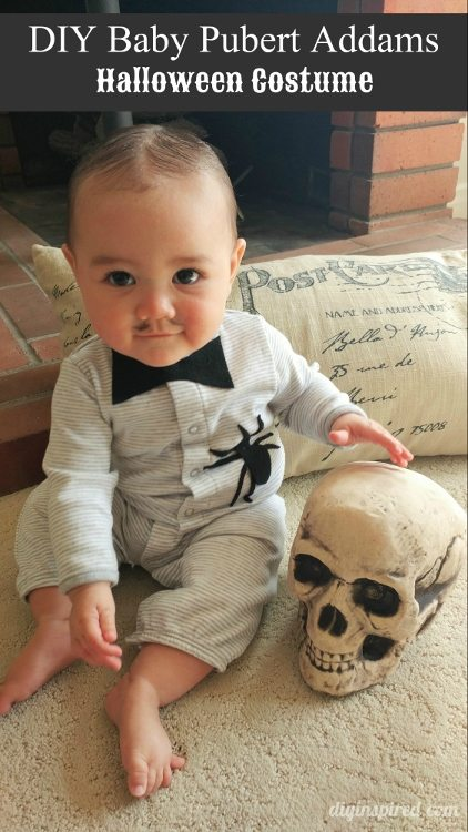 Diy Baby Boy Halloween Costumes.Diy Baby Pubert Addams Halloween Costume Diy Inspired