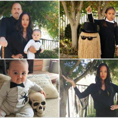 DIY Addams Family Halloween Costumes