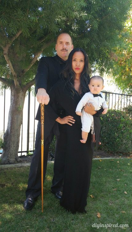 Cheap And Easy Morticia Addams Halloween Costume