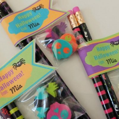 Non Candy Halloween Treats with Printable