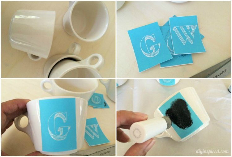 how-to-make-stenciled-coffee-cups