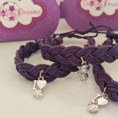 DIY Soccer Friendship Bracelets