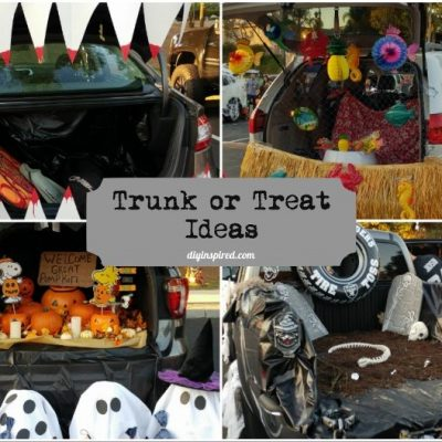 Trunk or Treat Decorating Ideas