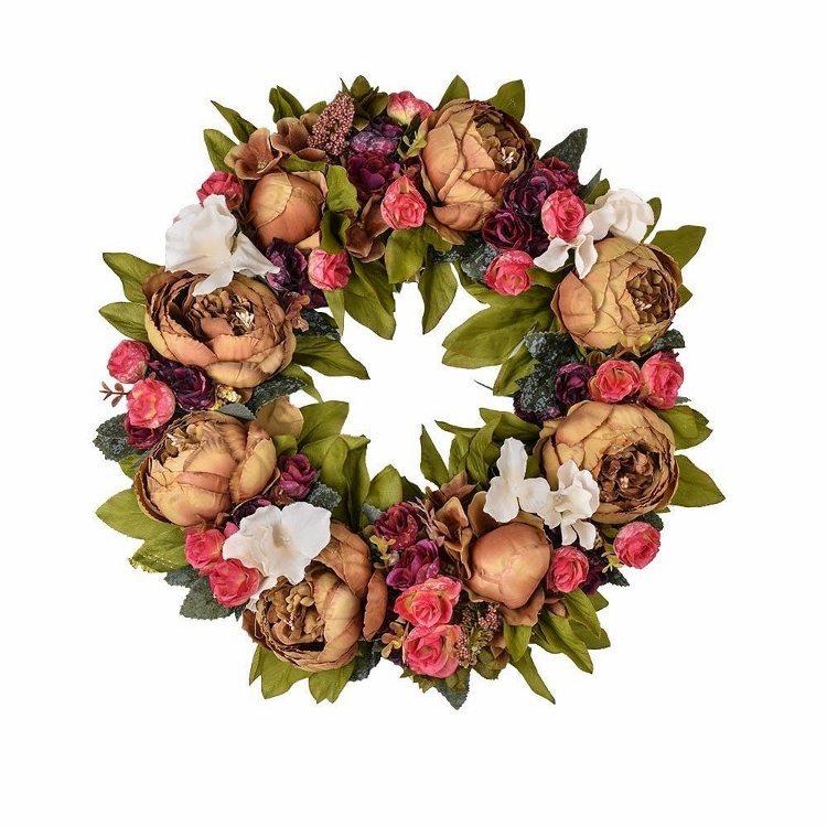 fall-wreaths-blooming-vintage-flowers