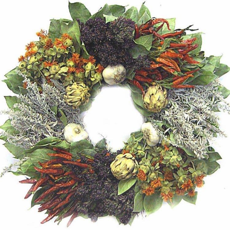 fall-wreaths-dried-herbs