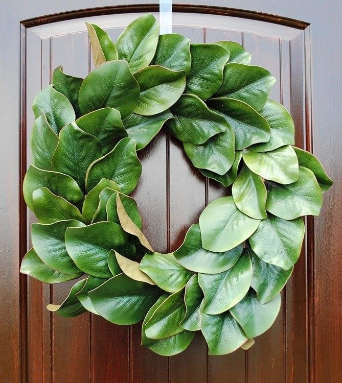 fall-wreaths-magnolia-leaves
