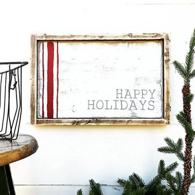 Farmhouse Holiday Décor