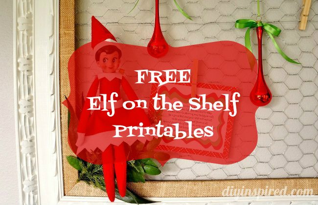 photo about Free Elf Printable named totally free-elf-upon-the-shelf-printables - Do-it-yourself Influenced