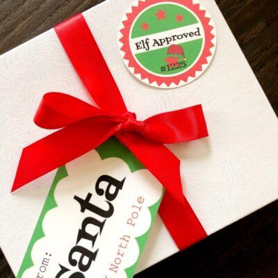 Free Santa Gift Tags Printables