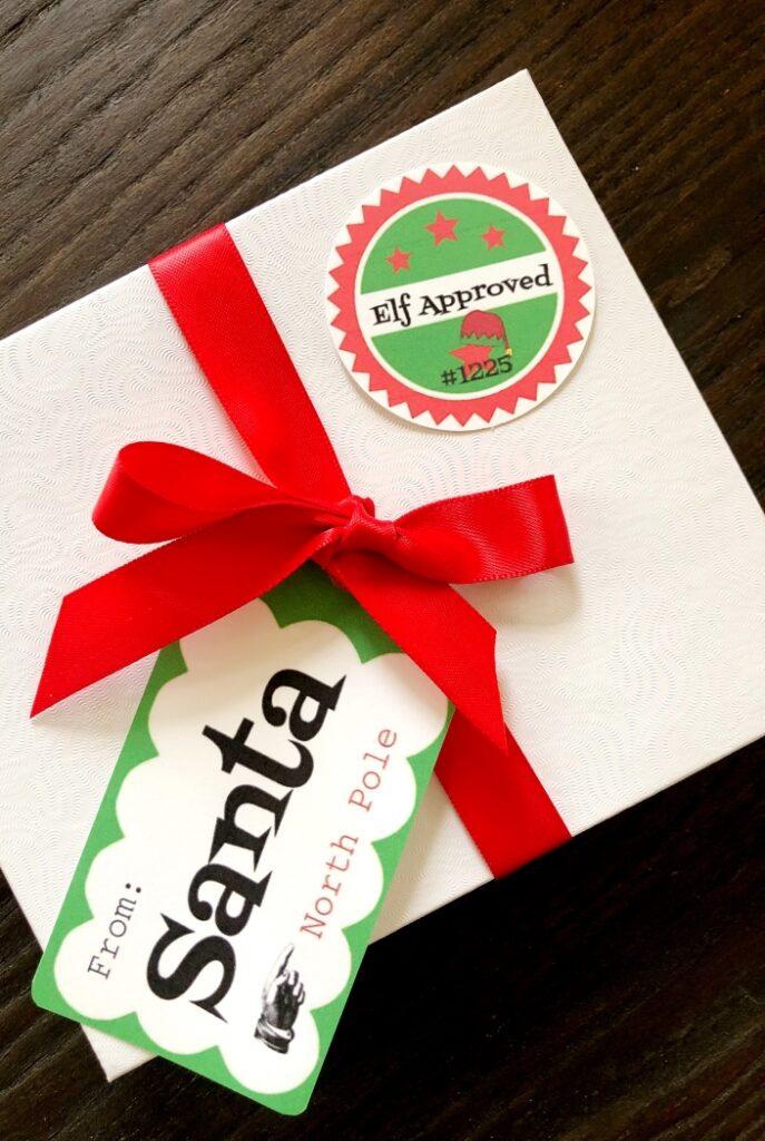 Free Printable Gift Tags from Santa