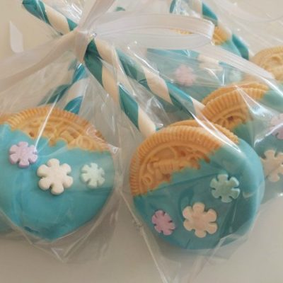 Easy Cookie Lollipop Party Favors