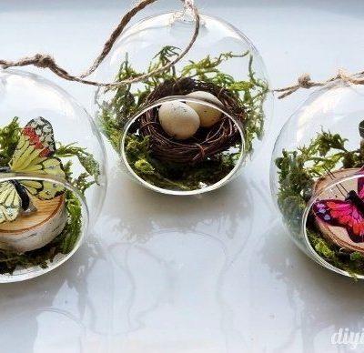 DIY Glass Ornament Ideas