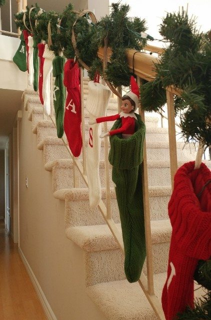 elf-on-the-shelf-ideas-hiding-in-a-stocking