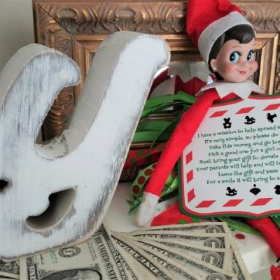 Elf on the Shelf Toy Donation Poem