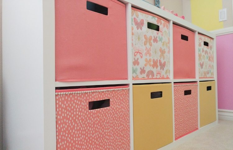 Storage-Ideas-for-a-Girls-Room - DIY Inspired