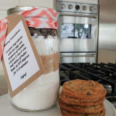 Mason Jar Chocolate Chip Cookies Recipe
