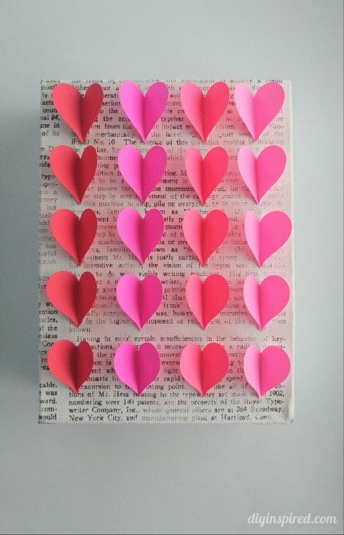 DIY Heart Wall Art - DIY Inspired