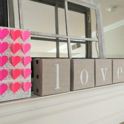 Easy Valentine's Day Home Décor