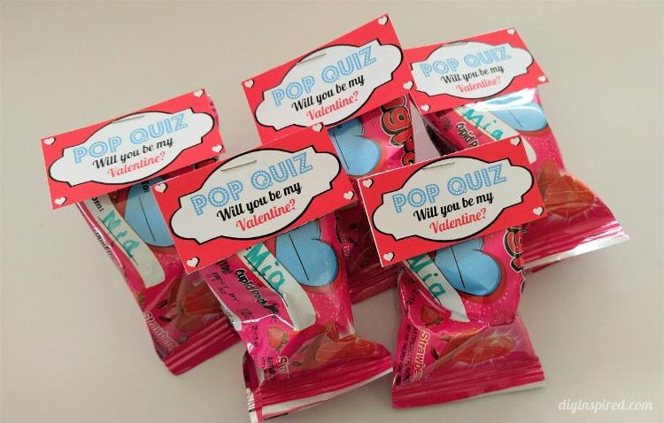 Ring Pop Valentines Printables