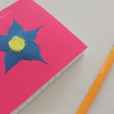 Chigiri-e Flower Notebook Tutorial