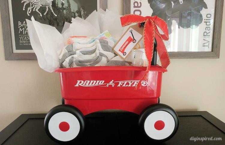 Little Red Wagon Gift Basket Idea - DIY Inspired