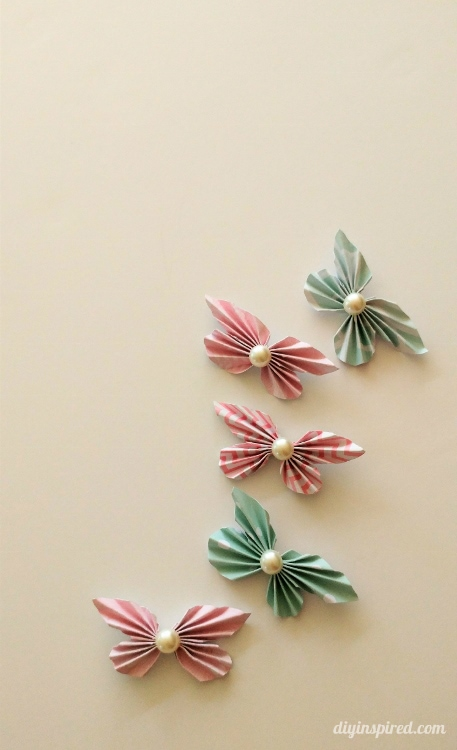 How to Make Paper Butterflies DIY Inspired