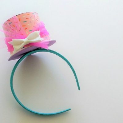 Make a Top Hat Headband Out of a Cup
