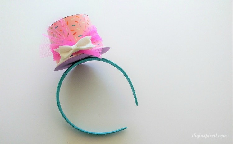 Make A Top Hat Headband Out Of A Cup Diy Inspired