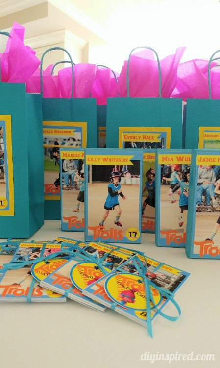 Softball Party Favors Ideas