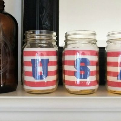 Free USA Printable for Mason Jars
