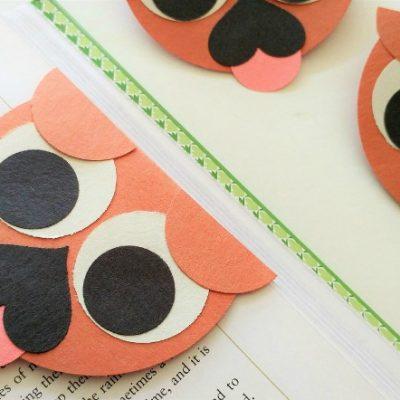 DIY Pug Bookmark