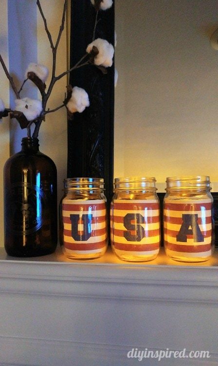USA Mason Jar Printable - DIY Inspired