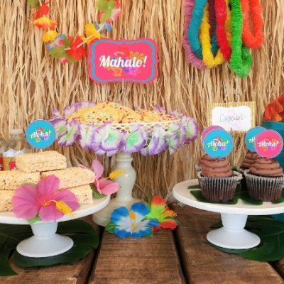 Luau Party Free Printables
