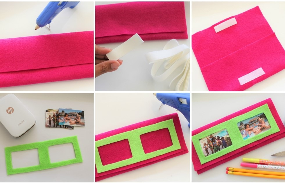 DIY Felt Pencil Case