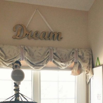 Easy Nursery Decorating DIY Ideas