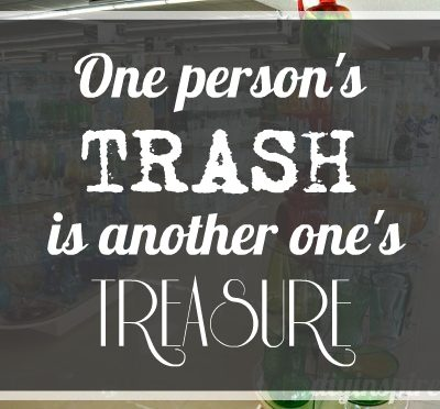 Trash to Treasure DIY Projects and Ideas