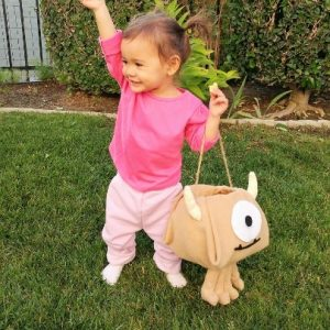 Diy Boo Costume From Monsters Inc Diy Inspired Diy Inspired