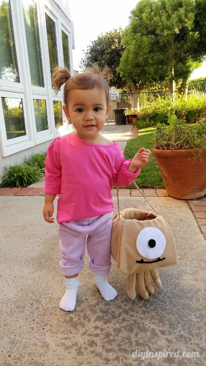 Little Mikey And Boo Monsters Inc Costume Diy Inspired