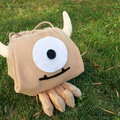 Little Mikey and Boo Monsters Inc Costume