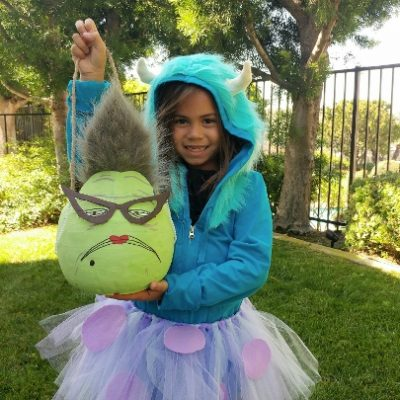 Monsters Inc Roz Trick or Treat Pail