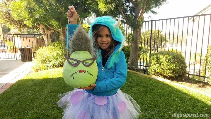 Monsters Inc Roz Trick or Treat Pail - DIY Inspired