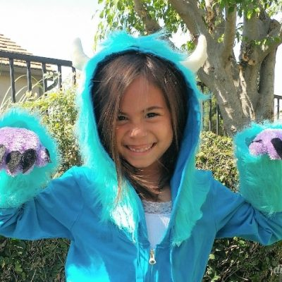DIY Sulley Costume from Monster's Inc.