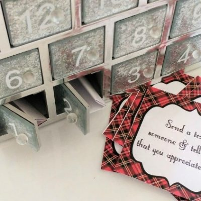 Advent Calendar Printable Kindness Notes