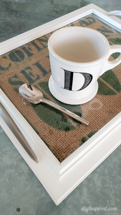 Turn a Cheap Thrift Store Frame into a Unique and Functional Serving Tray