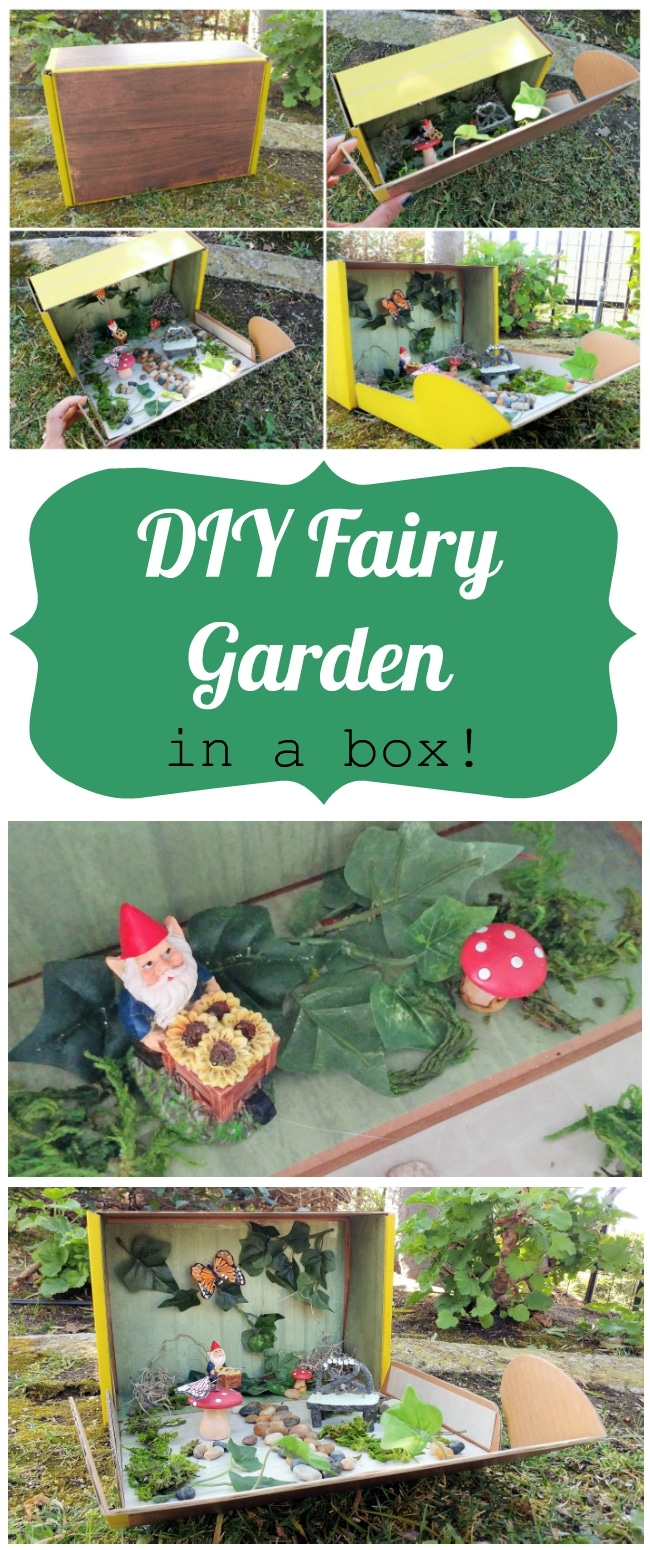 Diy Fairy Garden In A Box Inspired
